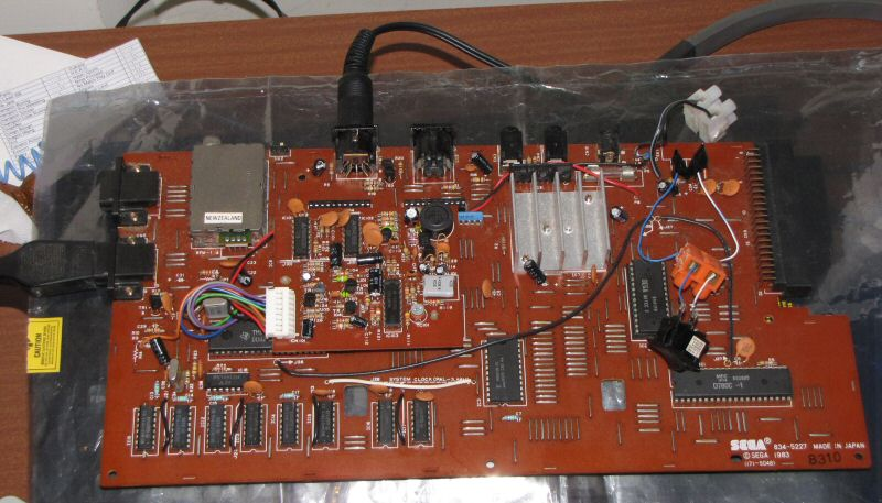SEGA SC-3000 mother board