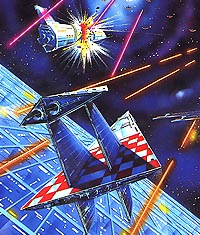 SEGA G-1010 Star Jacker Artwork