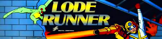 Lode Runner Arcade Artwork