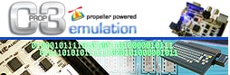 Propeller C3 SC-3000 Emulation project