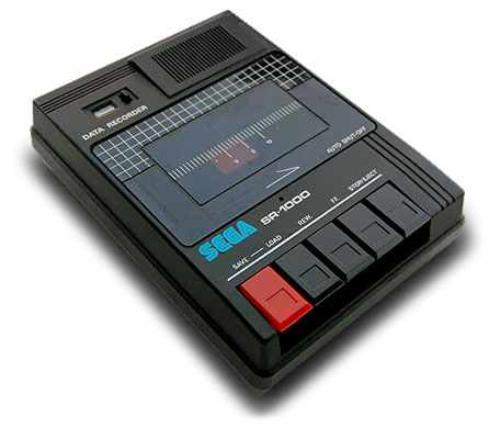 Cassette tape data recorder, SEGA SR-1000